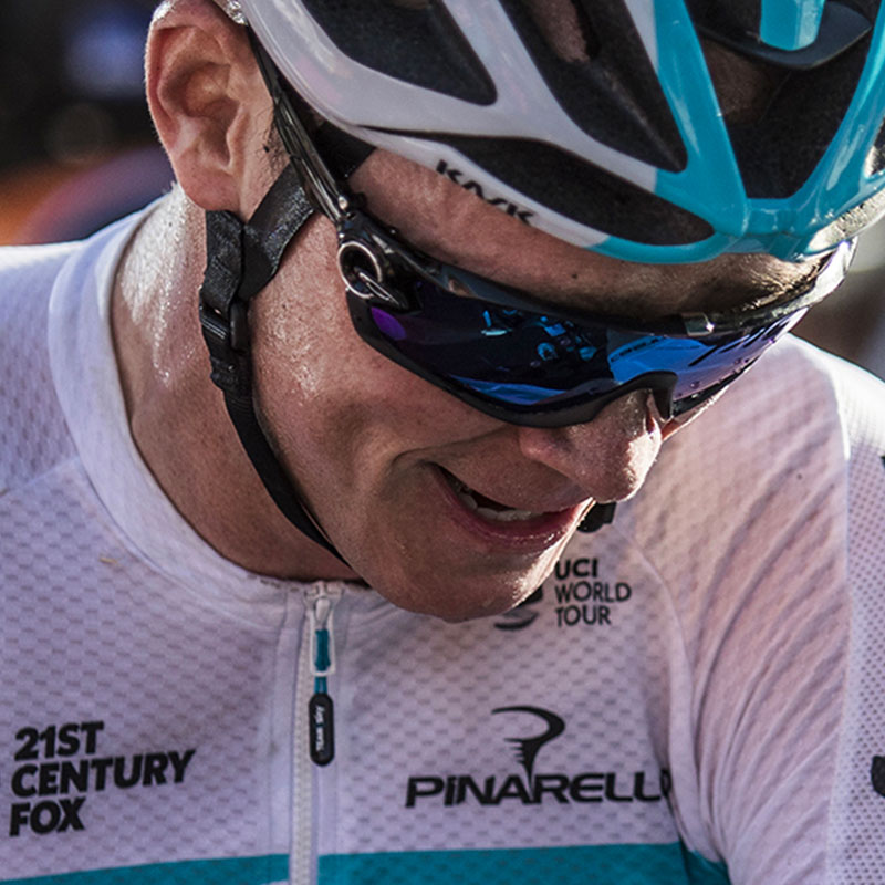 7 questions with Chris Froome