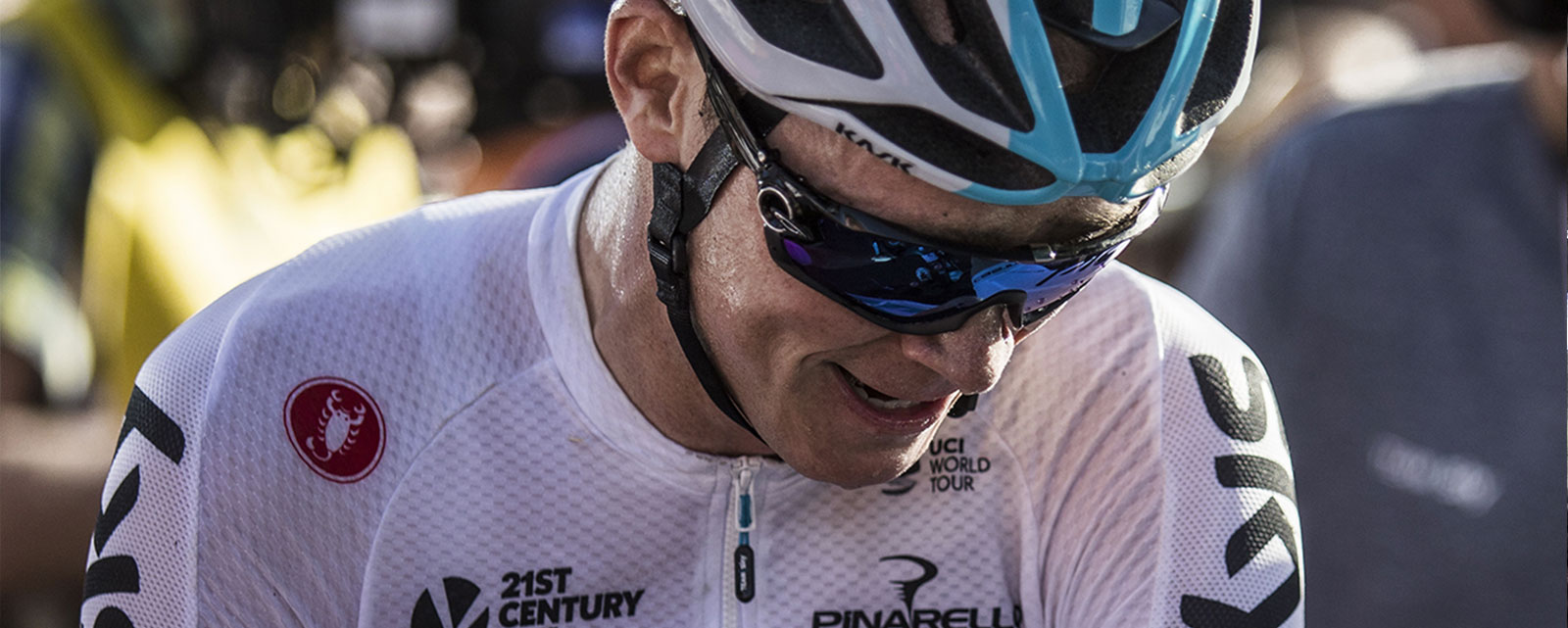 questions with Chris Froome