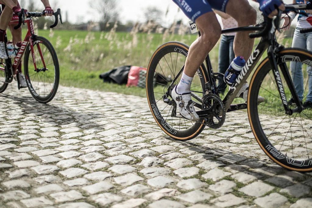Gilbert at Paris Roubaix