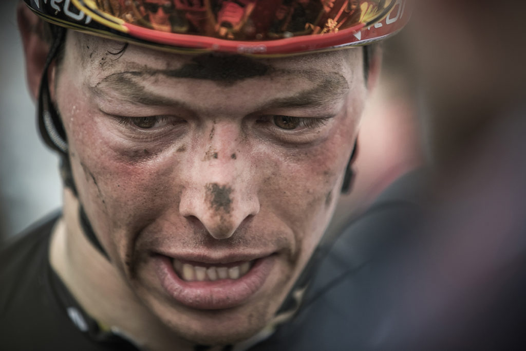 Naesen at Paris-Roubaix