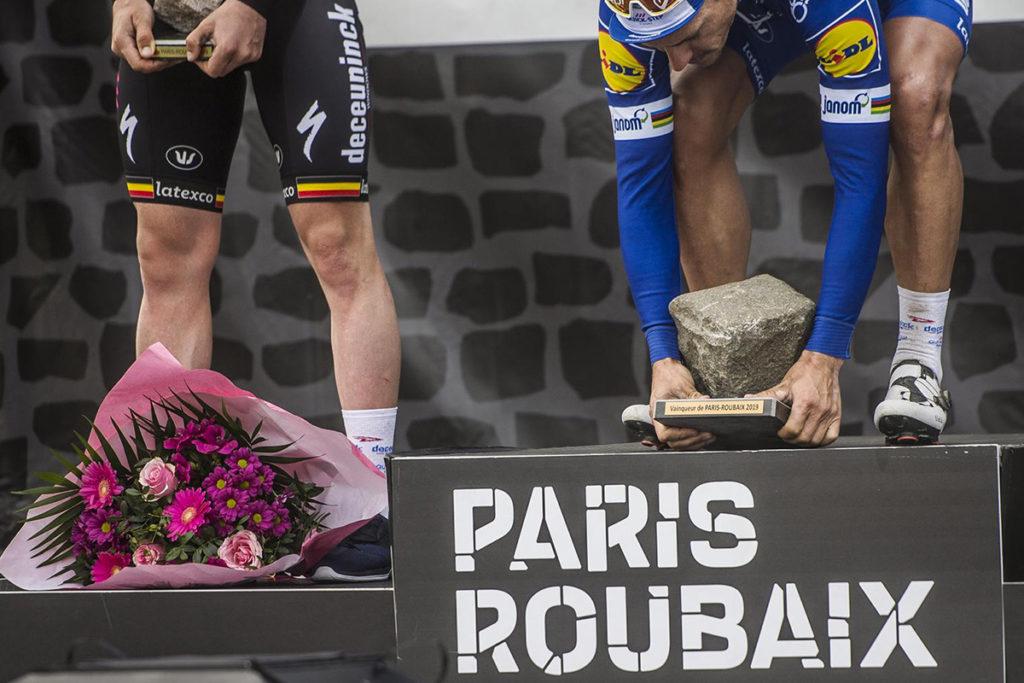 Philippe GIlbert wins Paris-Roubaix 2019
