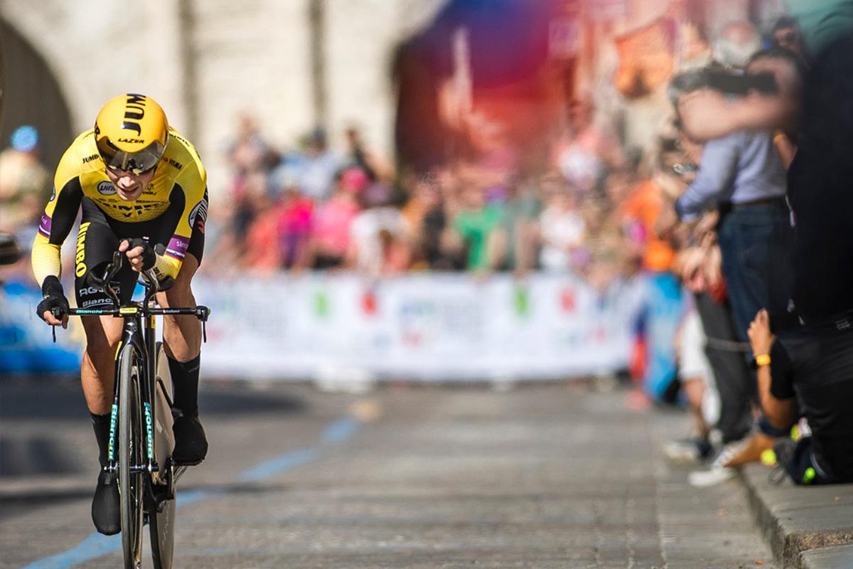 Primoz Roglic at Giro d'Italia