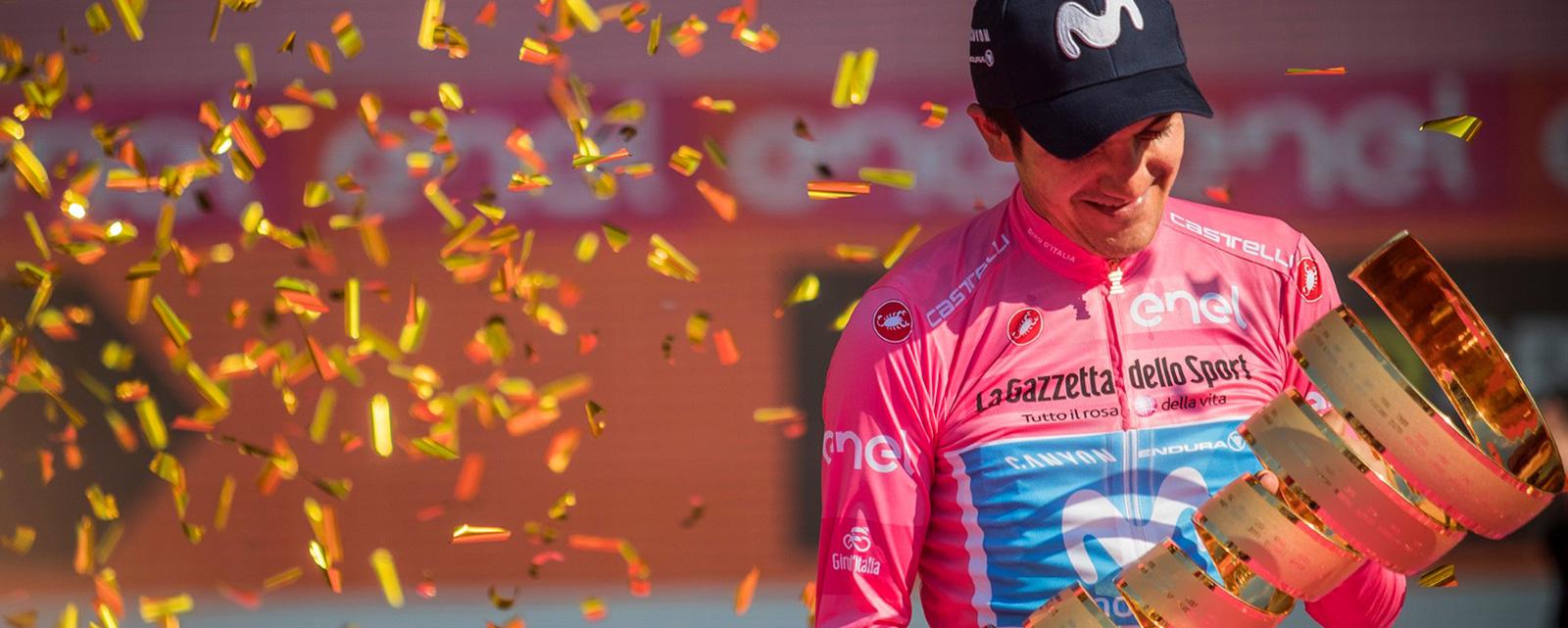 Carapaz wins Giro d'Italia