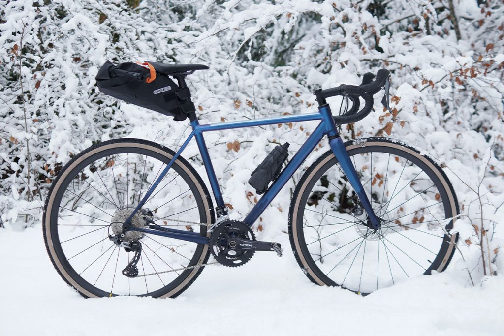 a Snowy Ride in Eastern France