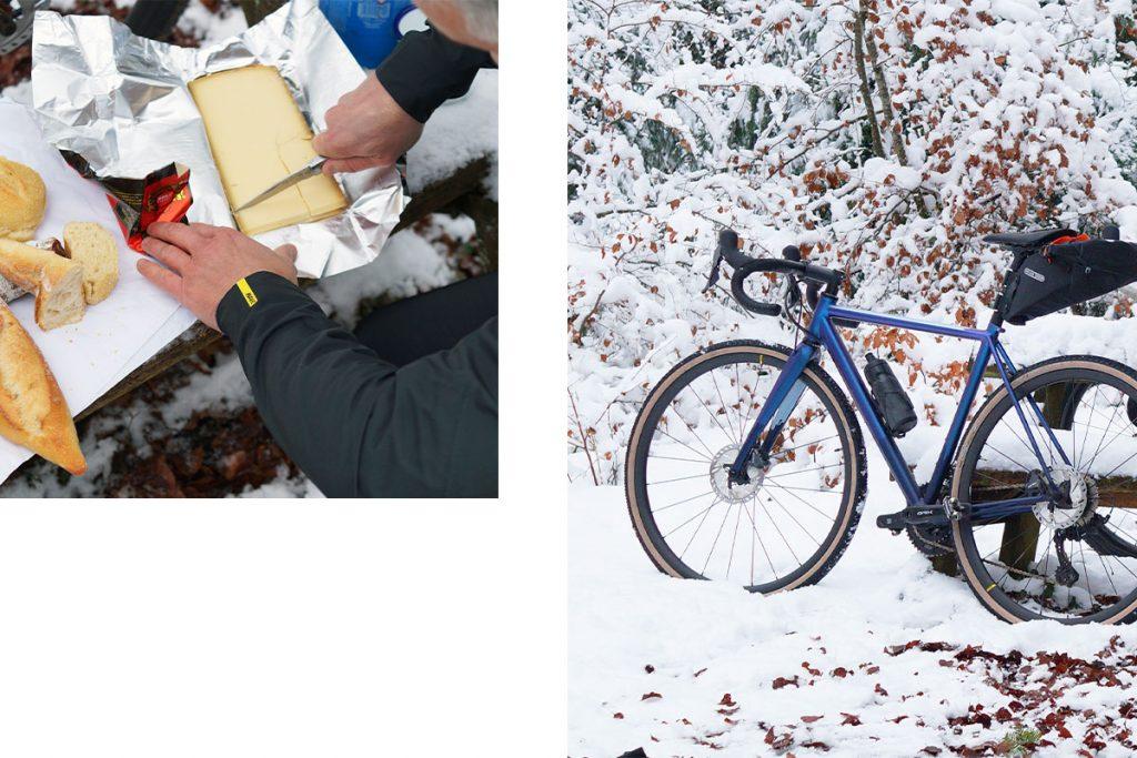 fizik Snowy Ride in Eastern France